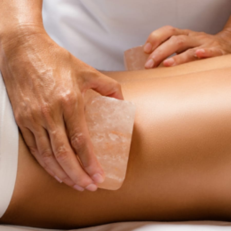 Trending Now - Himalayan Salt Stone Massage