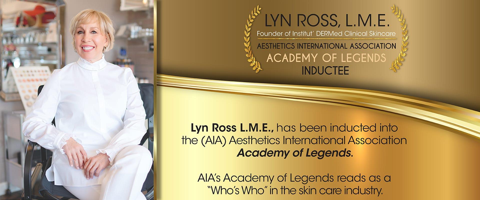 Lyn Ross L.M.E Banner